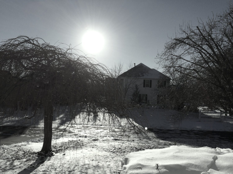 Snow. Sun.