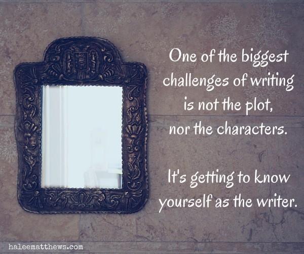 Writer, Know Thyself