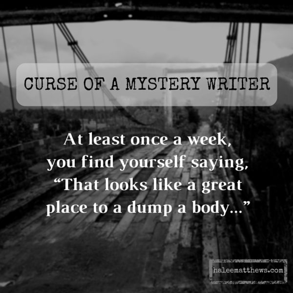 Curse of a Mystery Writer, 1