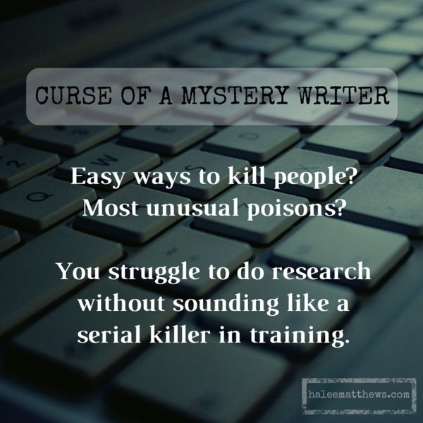 Curse of a Mystery Writer, 3