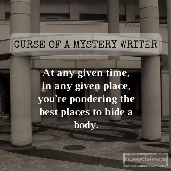 Curse of a Mystery Writer, 4